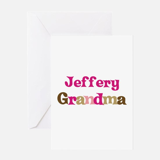 Jeffery's Grandma Greeting Card