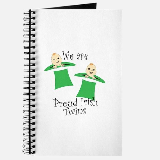 Proud Irish Twins Journal