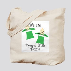 Proud Irish Twins Tote Bag