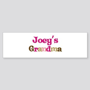 Joey's Grandma Bumper Sticker