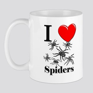 I Love Spiders Mug