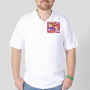 SuperMom for President Golf Shirt