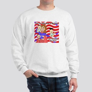 SuperMom for President Sweatshirt