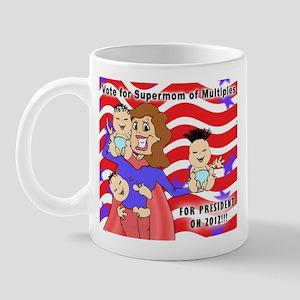 SuperMom for President Mug