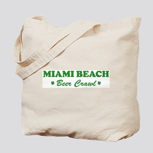 MIAMI BEACH beer crawl Tote Bag