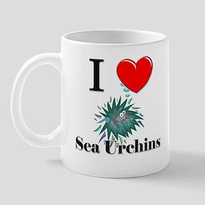 I Love Sea Urchins Mug