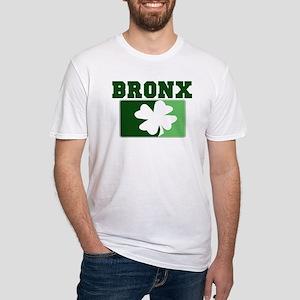 BRONX Irish (green) Fitted T-Shirt