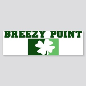 BREEZY POINT Irish (green) Bumper Sticker