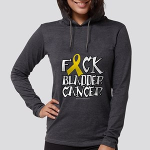 Fuck-Bladder-Cancer-blk Long Sleeve T-Shirt