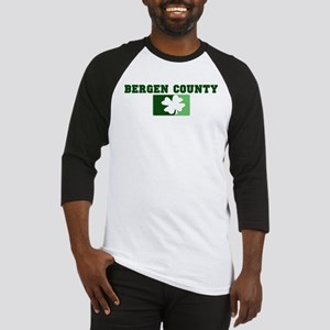 BERGEN COUNTY Irish (green) Baseball Jersey