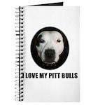 I LOVE MY PITT BULLS Journal