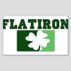 FLATIRON Irish (green) Rectangle Sticker