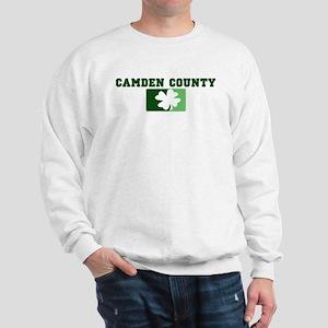 CAMDEN COUNTY Irish (green) Sweatshirt