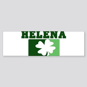 HELENA Irish (green) Bumper Sticker