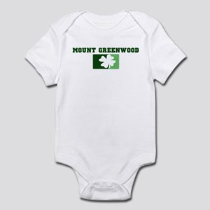 MOUNT GREENWOOD Irish (green) Infant Bodysuit