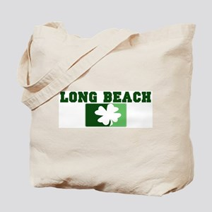 LONG BEACH Irish (green) Tote Bag