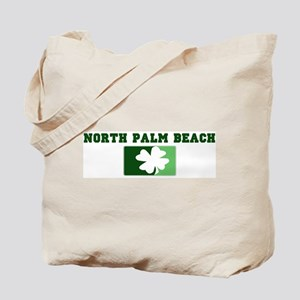 NORTH PALM BEACH Irish (green Tote Bag