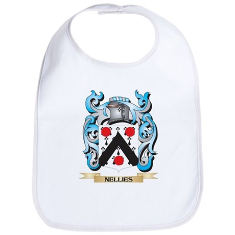 Nellies Coat of Arms - Family Crest Baby Bib