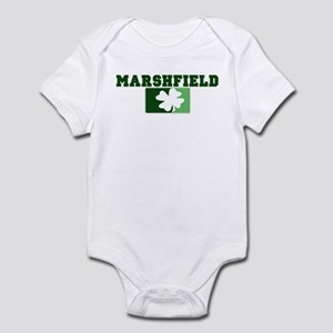 MARSHFIELD Irish (green) Infant Bodysuit