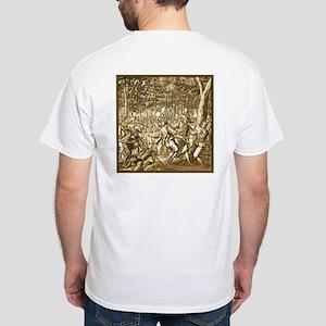 Pirate- Francois L'Ollonais White T-Shirt