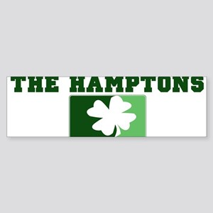 THE HAMPTONS Irish (green) Bumper Sticker
