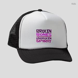 Broken bones Kids Trucker hat