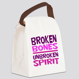 Broken bones Canvas Lunch Bag