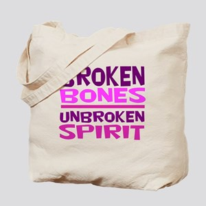 Broken bones Tote Bag