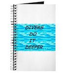 Divers Do It Deeper Journal