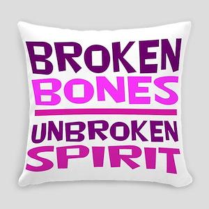 Broken bones Everyday Pillow