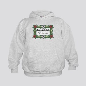 Beach Volleyball Princess Kids Hoodie