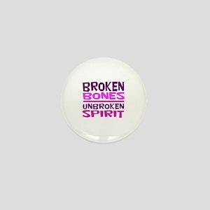 Broken bones Mini Button