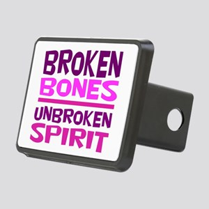 Broken bones Rectangular Hitch Cover