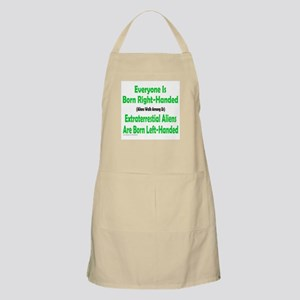 EVERYONE IS BORN RIGHT-HANDED BBQ Apron