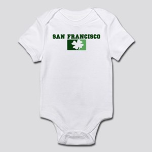 SAN FRANCISCO Irish (green) Infant Bodysuit