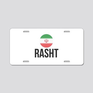 Rasht Aluminum License Plate