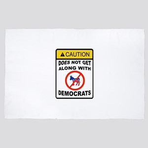 DEMOCRATS BE GONE 4' x 6' Rug