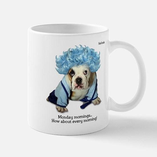 Monday Morning Bulldog Mug