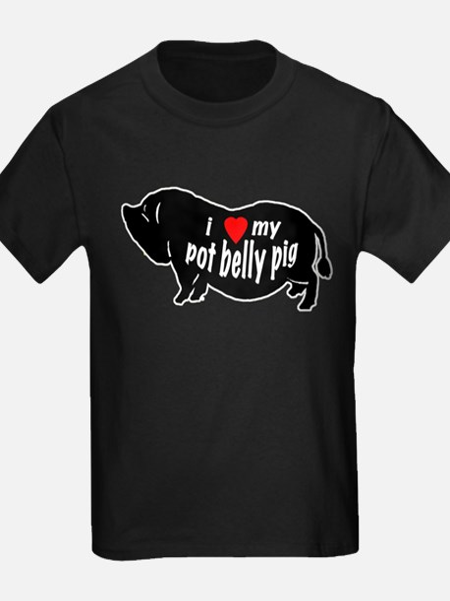 pot belly pig T