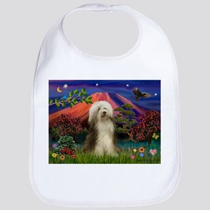 Mt Fuji / Bearded Collie Bib