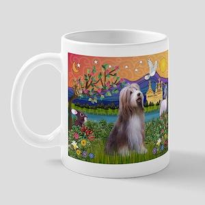 Fantasy Land / Bearded Collie Mug