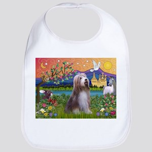 Fantasy Land / Bearded Collie Bib