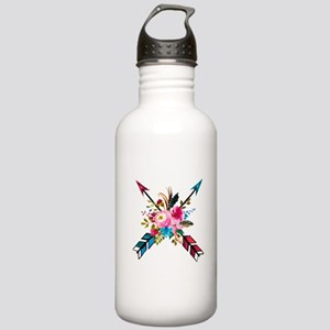 Watercolor Floral Arro Stainless Water Bottle 1.0L