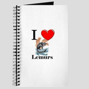 I Love Lemurs Journal