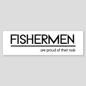 Fisherman Joke Bumper Sticker
