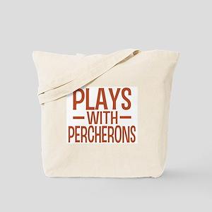 PLAYS Percherons Tote Bag