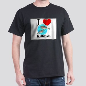 I Love Killifish Dark T-Shirt