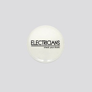 Electrician Joke Mini Button