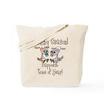 Goat Kidding Season Tote Bag