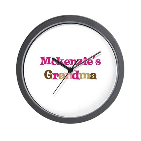 Mckenzie's Grandma Wall Clock